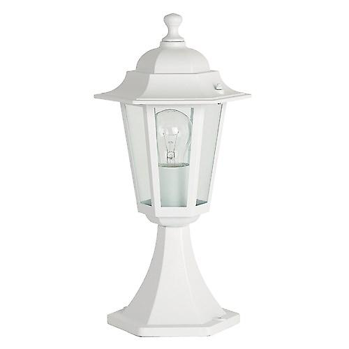 Endon YG-2003 Traditional Style White Aluminium Outdoor 6-Sided Post Top