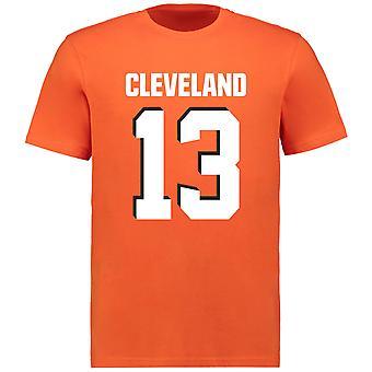 NFL T-Shirt-Cleveland Browns Odell Beckham Jr. orange