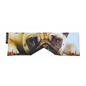 Lavender & Linseed Soothing Eye Pillow: Pug Dog Eyes