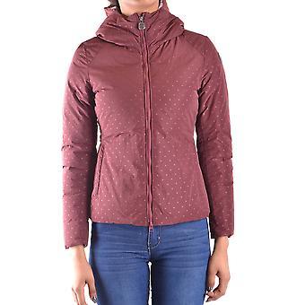 Invicta Burgundy Nylon Outerwear Jacket