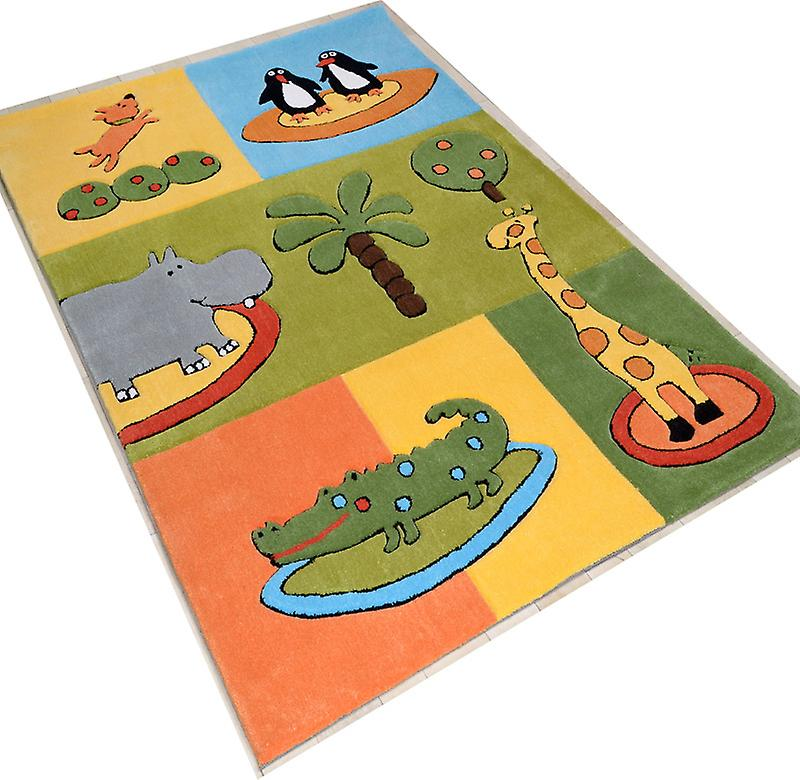 Teppiche - Children \ 's Zoo Animals - 3210