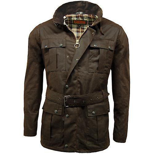Game Continental Belted Motorcyle Wax veste