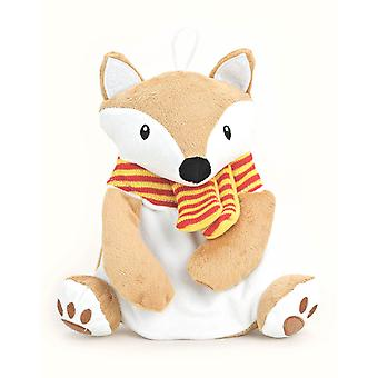 Cute Novelty Winter Fox 500ml Miniature Hot Water Bottle