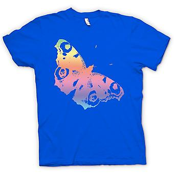 Womens T-shirt - Rainbow Butterfly - Cool