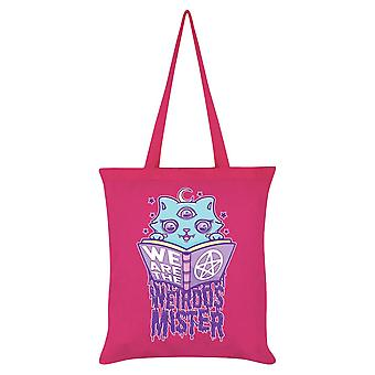Grindstore We Are The Weirdos Mister Spells Tote Bag