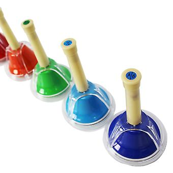 A-Star Hand Bells Set of 5 - Chromatic Notes