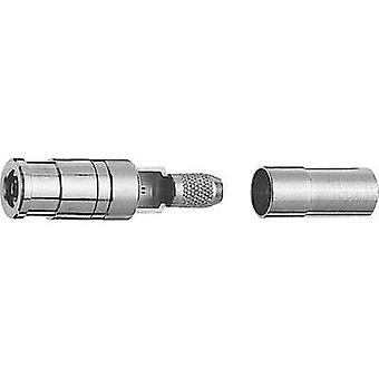 SMB connector Socket, straight 50 Ω Telegärtner J01161A0788