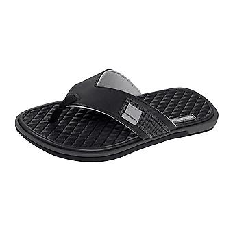 Valencia-Thong Mens Flip-Flops Fahrer / Sandals - Black