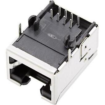 BEL Stewart Connectors 1450-2000-02 1450-2000-02 RJ45 Socket, right angle