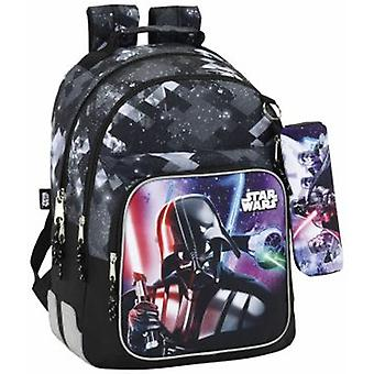Safta Day Pack Doble Adaptable Carro Star Wars (Toys , School Zone , Backpacks)