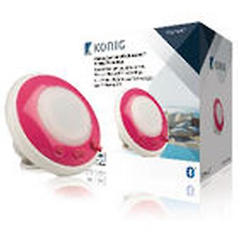 König Floating Water-Resistant Speaker With Bluetooth Rosa
