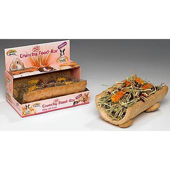 Quiko små dyr sprøde Mini Food Bar blomster 175g (pakke med 6)