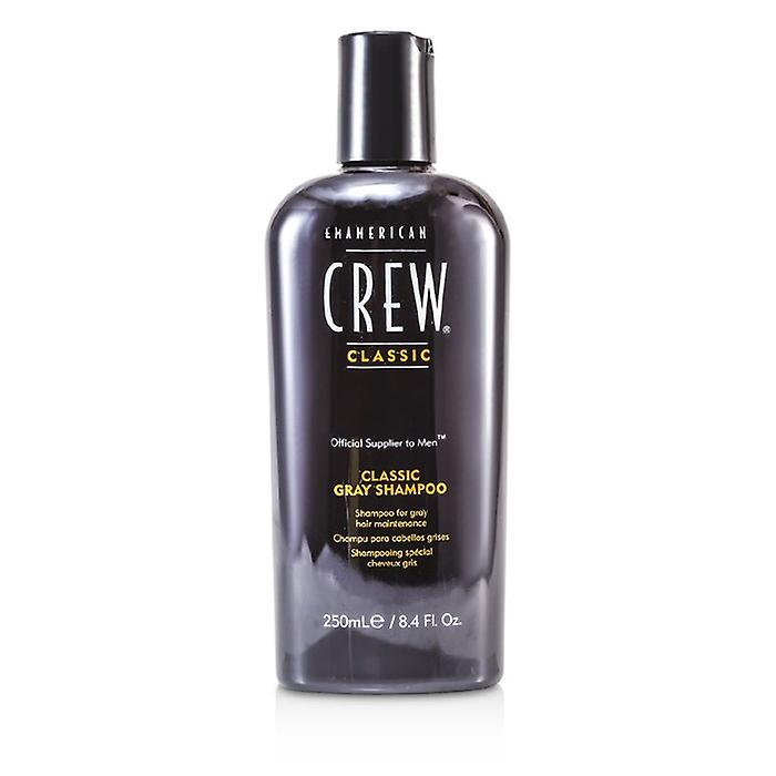 American Crew Men Classic Gray Shampoo (Optimal Maintenance For Gray Hair) 250ml/8.45oz