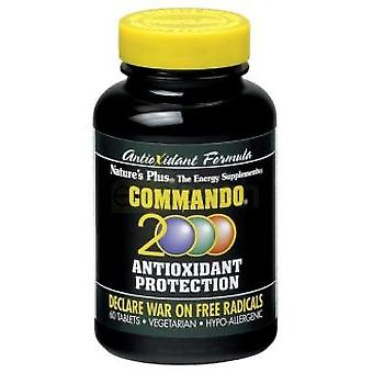 Nature's Plus Commando 2000 60 Comp. (Vitamins & supplements , Multinutrients)