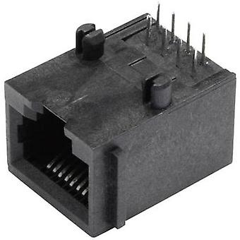 N/A Socket, horizontal mount SS64800-005F Black