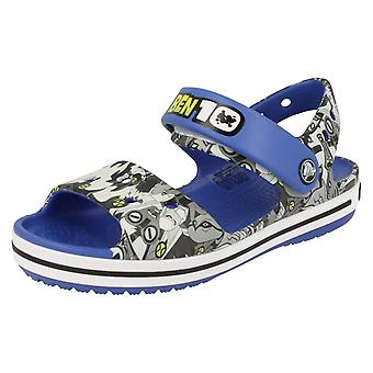 Boys Crocs Sandals Crocband Sandal K Ben 10