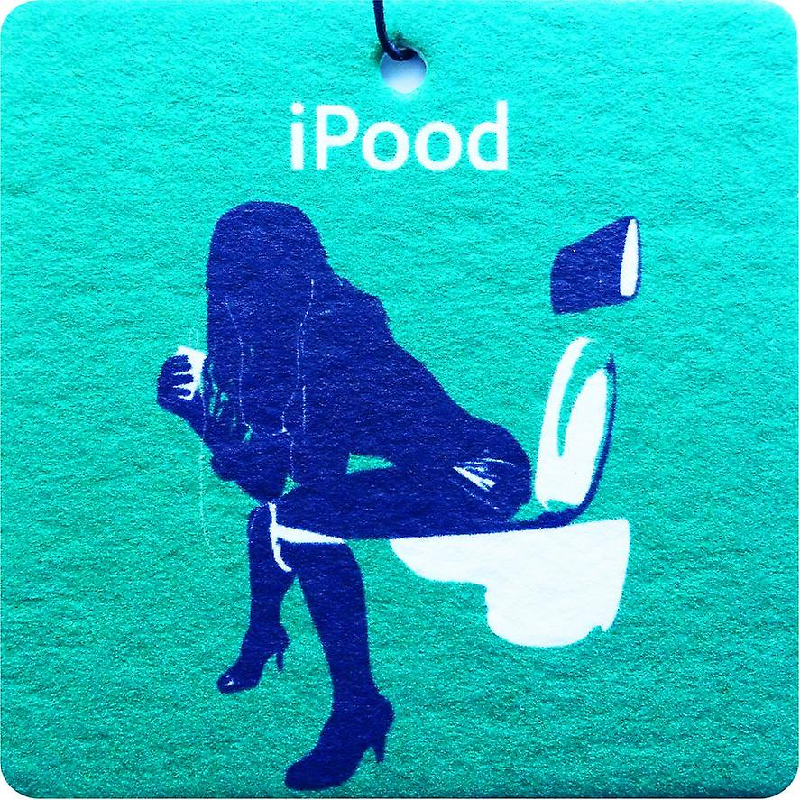 Ipood Girl Car Air Freshener