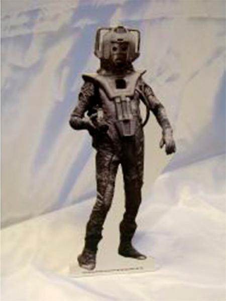 Dr. Who Cyberman papp Cutout 6ft