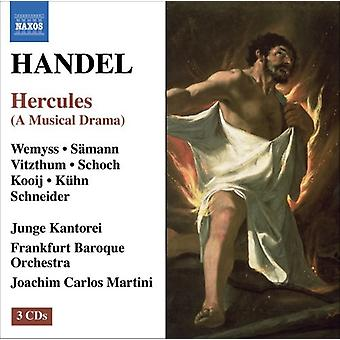 G.F. Handel - Handel: Hercules [CD] USA import