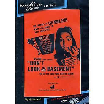 Don't Look in the Basement (1973) [DVD] USA import