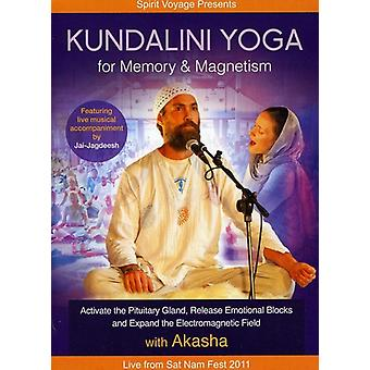 Kundalini Yoga for hukommelse & magnetisme [DVD] USA importerer