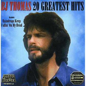 BJ Thomas - 20 Greatest Hits CD] USA importerer