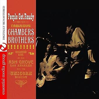 Chambers Brothers - import Leute Get Ready [CD] USA