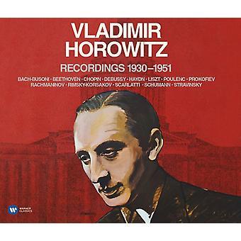 Vladimir Horowitz - opnamen 1930-51 [CD] USA import