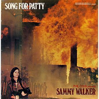 Sammy Walker - Sammy Walker: Vol. 8-bredside ballader: sangen for Patty [DVD] USA import