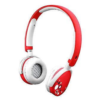 Kurio Kids Safe Headphones with Sound Level Limiter 3.5mm Jack Red (CI1125-GIR)