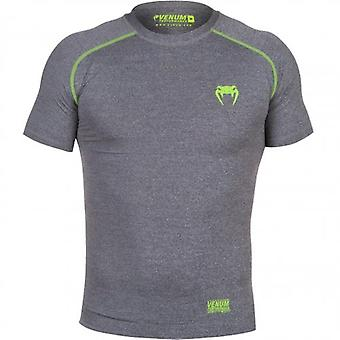 Venum Contender 2.0 Compression T-Shirt - Short Sleeve - Heather Grey