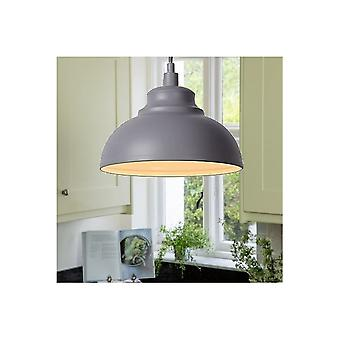 Lucide ISLA Grey Kitchen Pendant Light