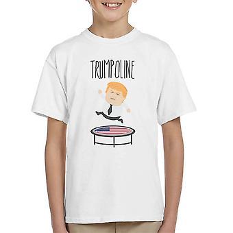 Trumpoline Donald Trump Republican Candidate Kid's T-Shirt