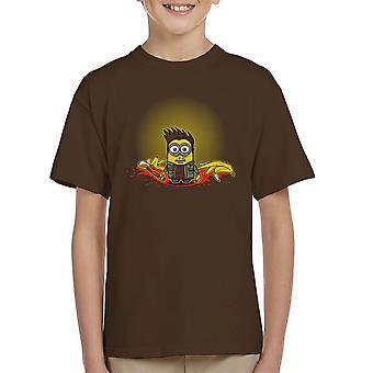 Mark af Minion overnaturlige håndlangere børne T-Shirt
