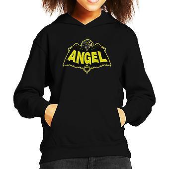 Angel Of Death Hellboy Kid's Hooded Sweatshirt