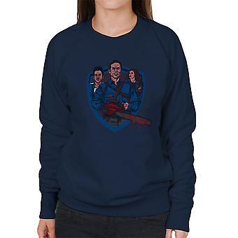 Come Get Some Ash Vs Evil Dead Women's Sweatshirt
