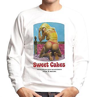 Sweet Cakes Adult Movie Poster Men's Sweatshirt