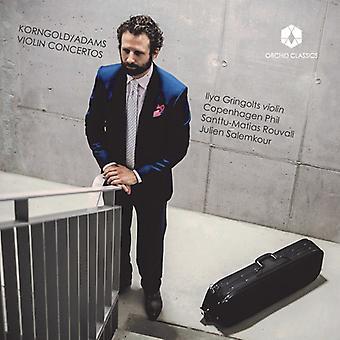 Adams / Korngold / Gringolts / Phil / Rouvali - Korngold & Adams: violinkoncerter [CD] USA import