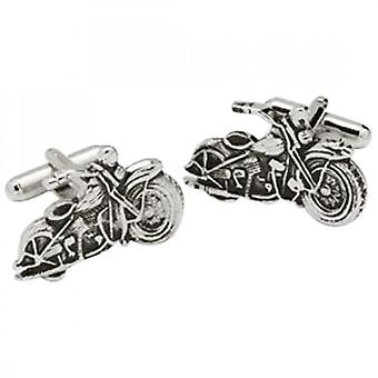 Onyx-Art Motor Bike Cufflinks