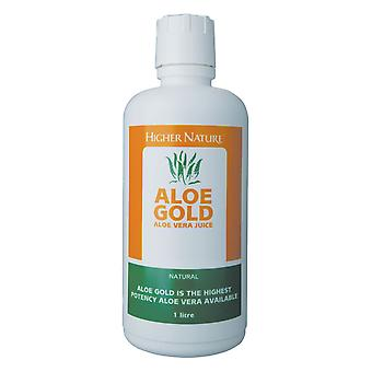 Higher Nature Aloe Gold Natural, 1 litre