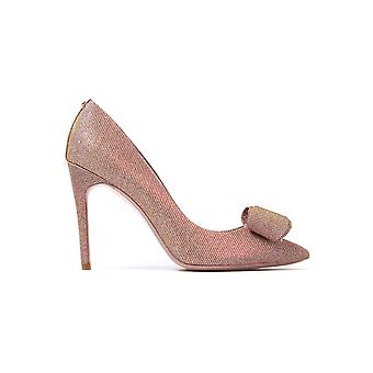 Women's Azeline Pointed Court Shoes - Rose Gold