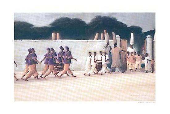 Place of Crossing Poster Print by Earl Jackson (36 x 25)
