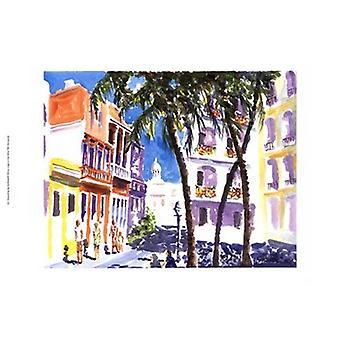 San Juan Puerto Rico Poster Print by J Presley (19 x 13)