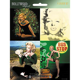 Mini Sticker Set Marilyn Monroe Mstkrset 0024S