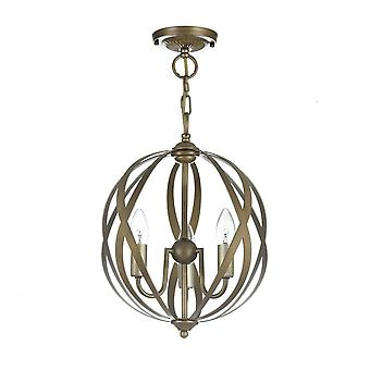 Maytoni Lighting Petra House Collection Pendant, Gold