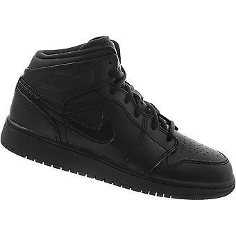 Nike Air Jordan 1 Mid BG 554725044 universal all year kids shoes