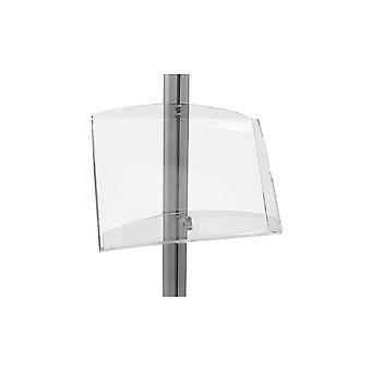 Stahldas Double A4 Acrylic Brochure Holder for Display Stand - MFS Ran
