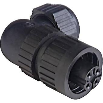 Hirschmann 934 129-100 CA 3 W LD Connector For Mains Voltage CA-series, Angulated Nominal current (details): 16 A/AC/10