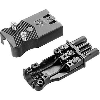 Mains connector Series (mains connectors) AC Socket, straight T