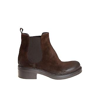 Strategia women's P2227CACAO brown leather ankle boots